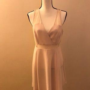 BCBGeneration Size 12 Light Pink Cocktail Dress